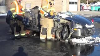 Extrication - Vehicle Dash Displacement