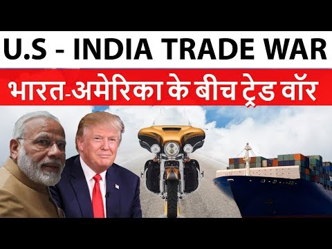 India - U.S Trade War 2018 - Indian Tariffs on U.S products
