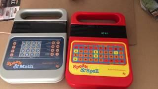 Speak & Spell, Speak & Math basic sounds