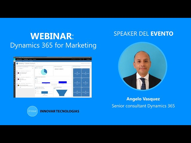 Dynamics 365 for Marketing: Demo y Funcionalidades