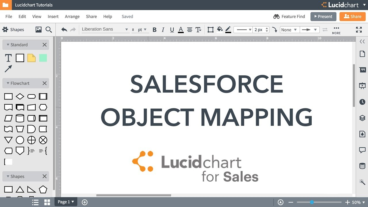 Lucidchart Tutorial - Automate Account Plans with Salesforce Data