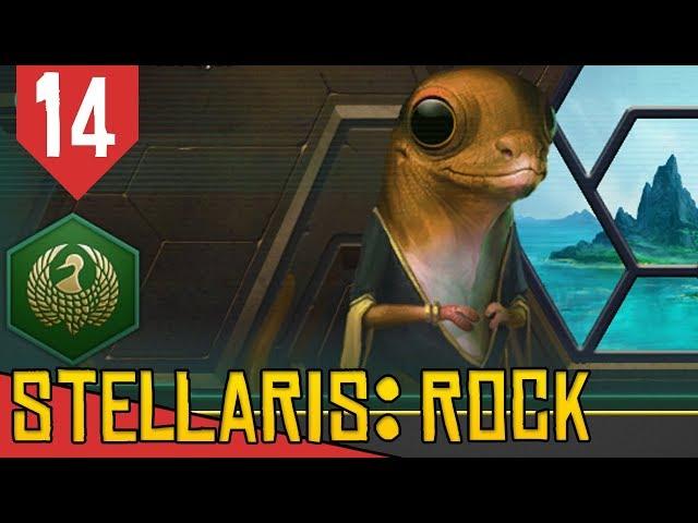FEDERAÇÃO da SOJA é Criada! - Stellaris Lithoids 2.5 #14 [Série Gameplay Português PT-BR]