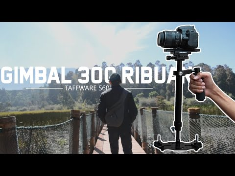 Tutorial Dan Review Steadycam TAFFWARE S60 Glidecam/Stabilizer/Gimbal Murah | Untuk Video Cinematic