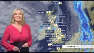 Carol Kirkwood BBC Weather June 1st 2020 - 60 FPS
