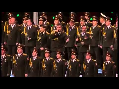 Russian Police Choir Covers Daft Punk sGet Lucky