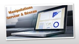 Utiliser le logiciel SIMULATEUR (Création, modification, test de réseaux virtuels)
