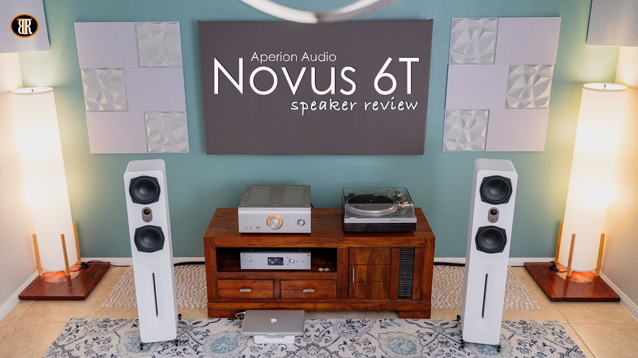 Aperion Novus 6T Tower Speaker Review, All Around Performer!