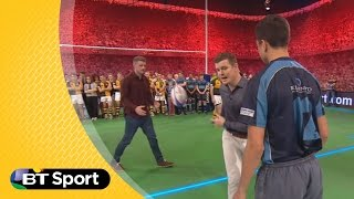 Pitch Demo: The wrap around | Rugby Tonight