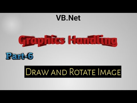 Draw And Rotate Image In Vb Net Graphics Handling Youtube