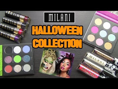 Milani Halloween Collection 2020 Milani HALLOWEEN COLLECTION 2020: Real Swatches, Lip Swatches