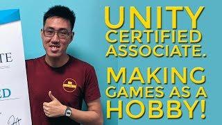 Julian Cheung, Unity Certified Associate. Making Games as a hobby!