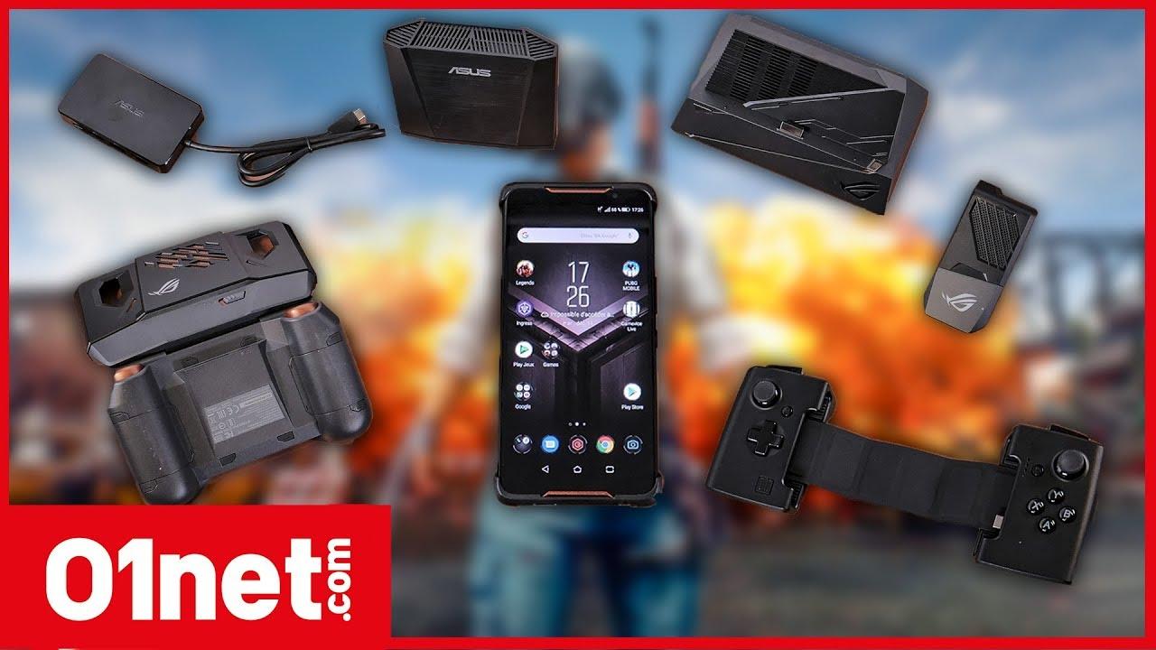 Avec ses accessoires, l'Asus ROG Phone peut-il remplacer votre console portable ?