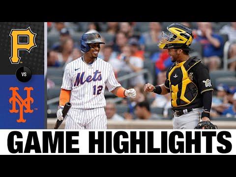 Pirates vs. Mets Game Highlights (7/9/21) | MLB Highlights