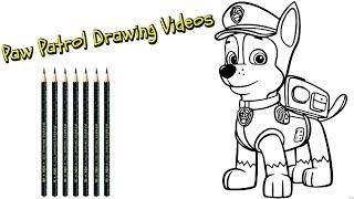 Paw Patrol Drawing Videos