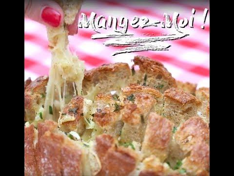 R alisez un garlic bread ultra gourmand pour vos ap ros for Plat unique convivial entre amis