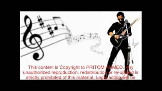GUPTOCHOR MON / DUKKHO SARI SARI karaoke by PRITOM AHMED