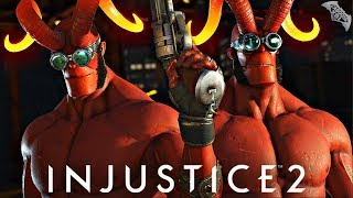 Injustice 2 Online - AWESOME HELLBOY GEAR!