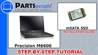 Dell Precision M6600 mSATA SSD (Solid State Drive) How-To Video Tutorial