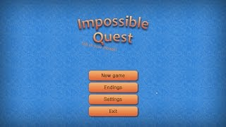 Impossible Quest: Funniest Multiple Choice Game Ever