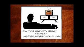 Mid Century Furniture 4 Less.com Beautiful Brooklyn Brown Revealed