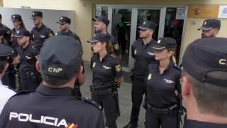 Recepción nuevos policías nacionales - Comisaría Policía Nacional, Puerto De la Cruz