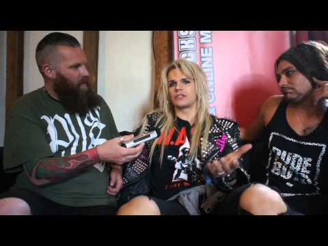 Reckless Love Interview Sonisphere Festival 2014