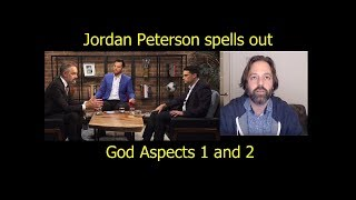 Jordan Peterson spells out God 1 and 2 to Ben Shapiro