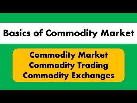 Lecture 27 : Basics Of Commodity Market For SEBI Grade A