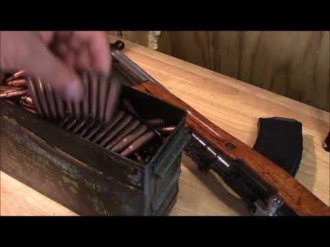Old surplus ammo testing 7.62x39