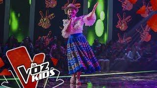 Erika canta Día Rosa – Audiciones a Ciegas | La Voz Kids Colombia 2019