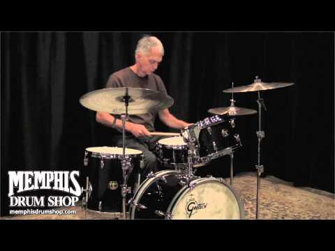 Gretsch USA Custom Jazz Drum Set - Anniversary Sparkle