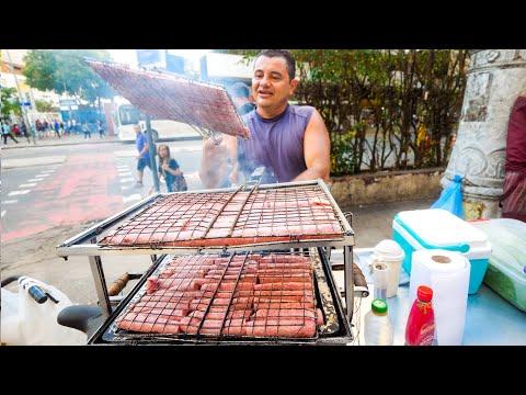 Street Food in Brazil - RIO DE JANEIRO Brazilian Food + Attractions in Rio, Brazil!