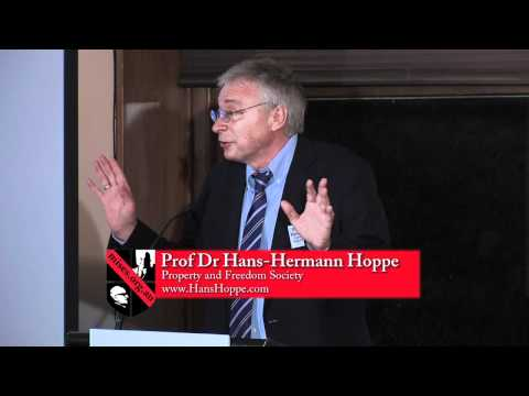 Society Without State: Private Law Society | Hans-Hermann Hoppe