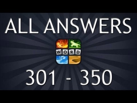 4 Pics 1 Word All Answers (Part 7, 301-350)