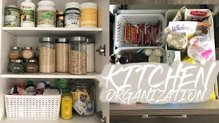 KITCHEN ORGANIZATION | Cupboards + Drawers