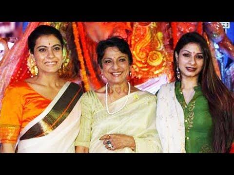 Kajol Visits Oldest And Biggest Durga Puja In Mumbai 2017