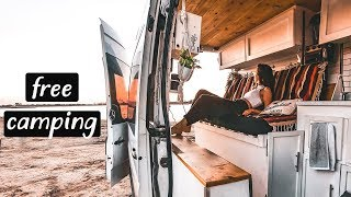 VAN LIFE SAN DIEGO | free beachfront living in california