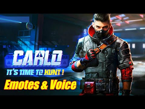 Pubg Mobile New Special Character Carlo Coming Soon | Pubg New Carlo Character Emote & Voice Leaks