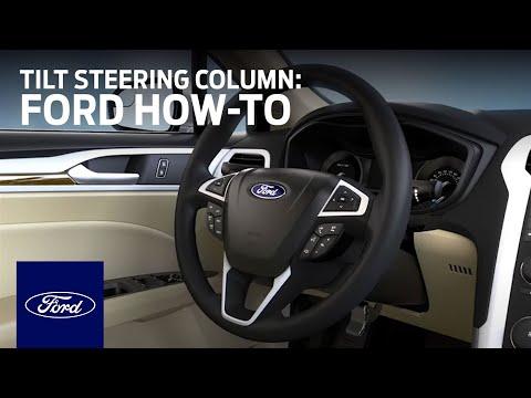 Adjustable Tilt/Telescoping Steering Column | Ford How-To | Ford
