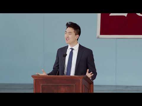 Harvard Orator Jin Park | Harvard Class Day 2018
