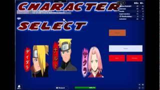 Roblox Naruto KOS AND WOS