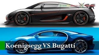 AUTO | 2018 Koenigsegg Agera RS vs 2018 Bugatti Chiron - The World's Record - 0-400-0 Km/h Battle