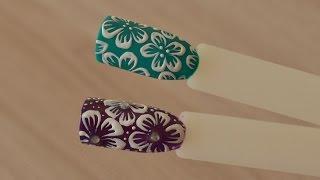 ЭКСПРЕСС-ДИЗАЙН ЦВЕТЫ на НОГТЯХ(Быстрый и легкий способ нарисовать цветы на ногтях. В создании дизайна участвовала гель краска EMPASTA от..., 2015-06-17T12:09:51.000Z)