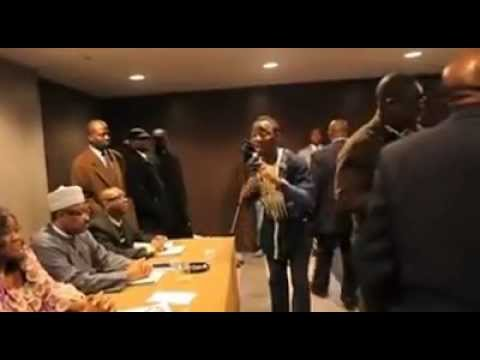 Nigeria Minister Disgraced In New York for Coming Late