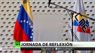 Jornada de reflexión en Venezuela de cara a los comicios presidenciales