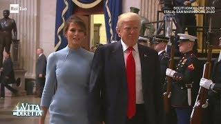 """""""Melania Trump come Jacqueline Kennedy"""", l'elogio del New York Times - La Vita in Diretta 31/05/2017"""