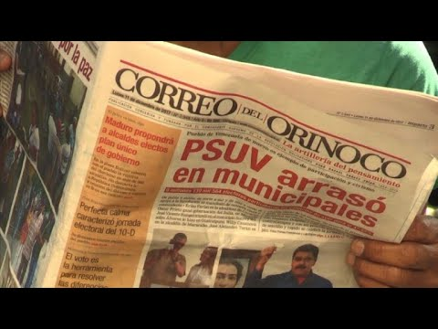 Venezuelans react to Maduro's win in municipal elections