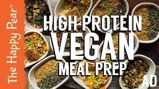 High Protein Vegan Meal Prep with Waitrose #AD
