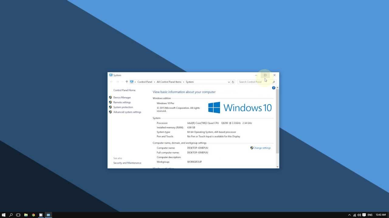 How to Enable Remote Desktop Connection on Windows 10
