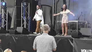 Mariella Milana \u0026 Michele Joy - Ich liebe das Leben 02.08.2020 Rheinpark in Düsseldorf